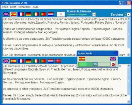 ZikiTranslator is a Multi translator On-line